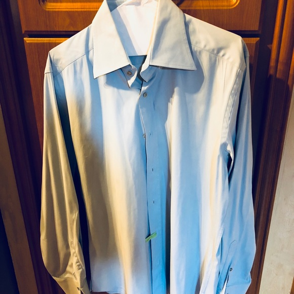 Gucci Other - Gucci men s casual or dressy light blue shirt L 1f53ee841